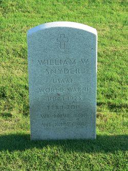 "William Wallace ""Bill"" Snyder"