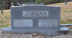 Deborah Anne <I>Ware</I> Jordan