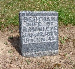 Bertha May <I>Mitchell</I> Manlove