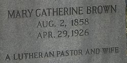 """Mary Catherine """"Katie"""" <I>Brown</I> Brown"""
