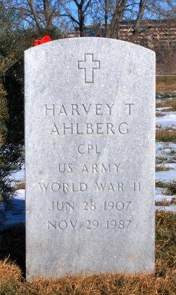 Harvey T Ahlberg