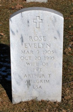 Rose Evelyn <I>Murphy</I> Ahlgrim