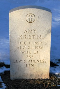Amy Kristin <I>Simunds</I> Ahlness