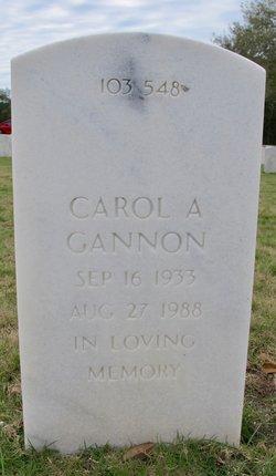 Carol A Gannon