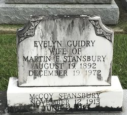 Evelyn <I>Guidry</I> Stansbury