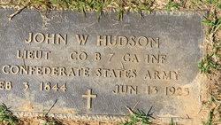 John Wesley Hudson