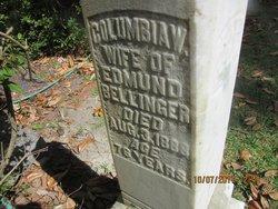Columbia Elizabeth Woodruff <I>Allen</I> Bellinger