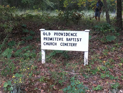 Old Providence Primitive Baptist Church Cemetery