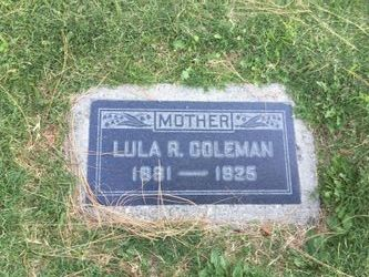 Lula Rose <I>Teagarden</I> Coleman