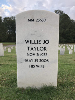 Willie Jo Taylor