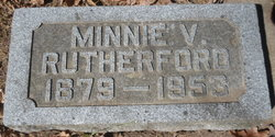 Minnie V Rutherford