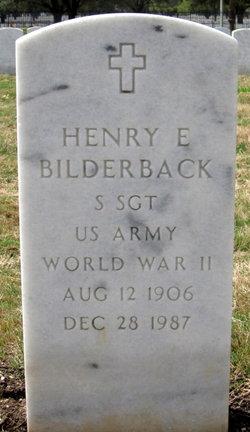 Henry E Bilderback