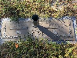 Letty Lou <I>McFayden</I> Pope