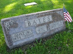 Olive M <I>VanDorn</I> Bates
