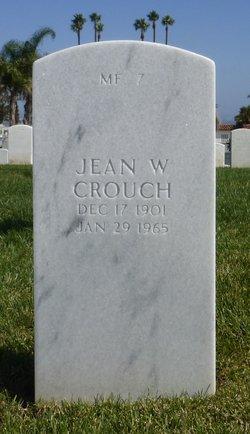 Jean <I>Wallace</I> Crouch