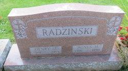Agnes <I>Daniels</I> Radzinski