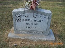 Lorene A. <I>Vickers</I> Massey