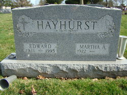 Edward Hayhurst