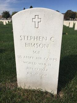 Stephen C Bimson