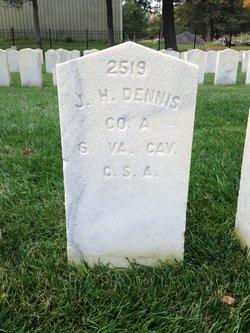 Pvt Joseph H Dennis