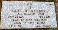 Donald John Feldman