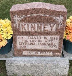 Georgina <I>Tannahill</I> Kinney
