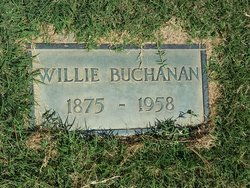 Willie <I>Sloan</I> Buchanan
