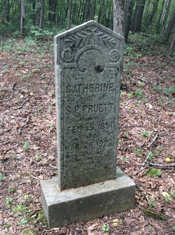 Mrs Mary Catherine <I>Stewart</I> Pruett