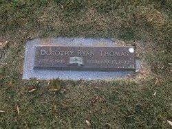 Dorothy Margaret <I>Ryan</I> Thomas