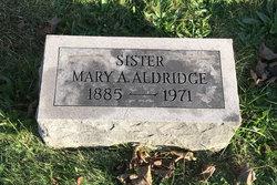 Mary A <I>McGrath</I> Aldridge
