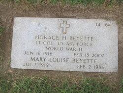 Mary Louise Beyette