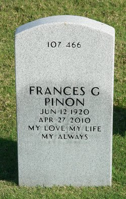 Frances G Pinon