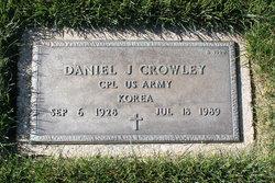 Daniel J Crowley