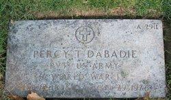 Percy T Dabadie