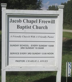 Jacob Chapel Church Cemetery