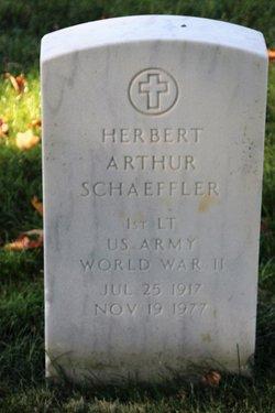Herbert Arthur Schaeffler