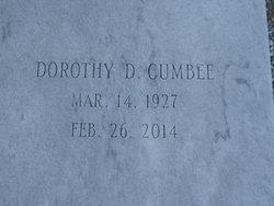 Dorothy <I>Davis</I> Cumbee