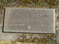 Sidney E. Erickson