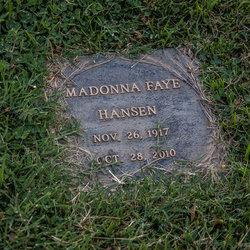 "Madonna Faye ""Donna"" <I>Addington</I> Hansen"