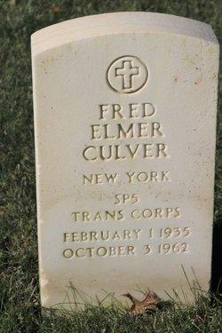 Fred E Culver