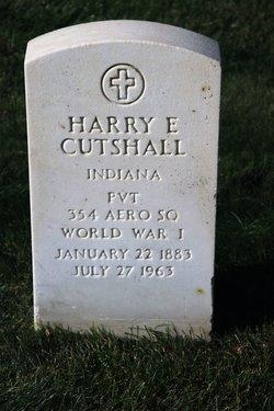 Harry E Cutshall