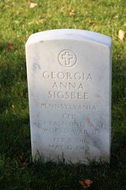 Georgia Anna Sigsbee