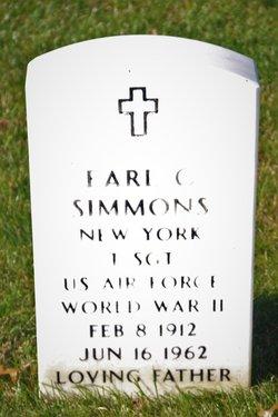 Earl C Simmons