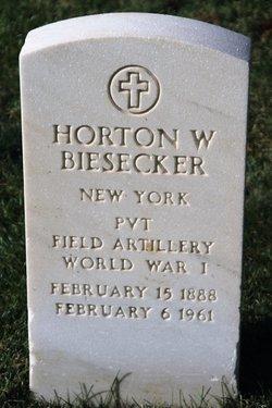 Horton W Biesecker