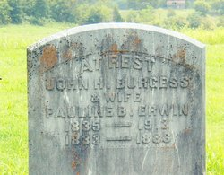 Pauline B. <I>Erwin</I> Burgess