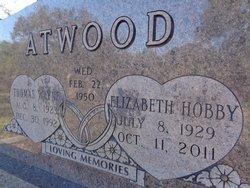 """Elizabeth """"Liz"""" <I>Hobby</I> Atwood"""