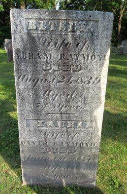 """Elizabeth """"Betsey"""" <I>Gray</I> Raymond"""