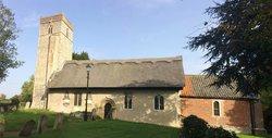 St Mary's Churchyard, Thwaite st Mary.