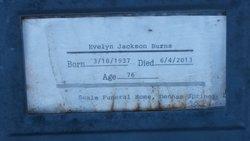 Evelyn <I>Jackson</I> Burns