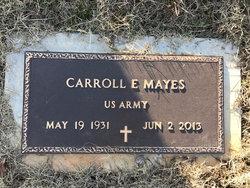 """Carroll Elton """"Kato"""" Mayes"""